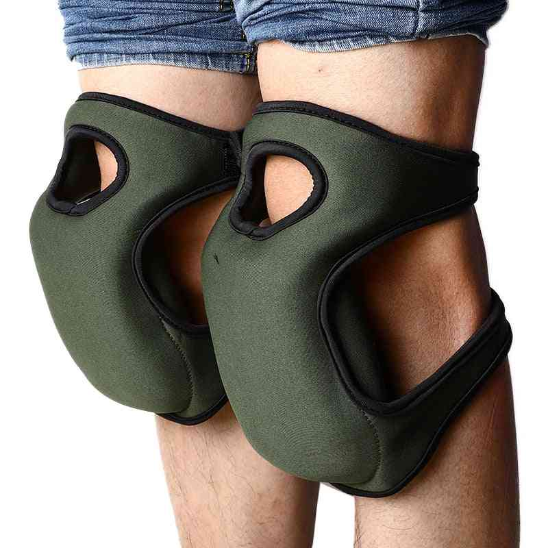 Knee Protector Pads For Sport Work Gardening Workplace Safety Supplies