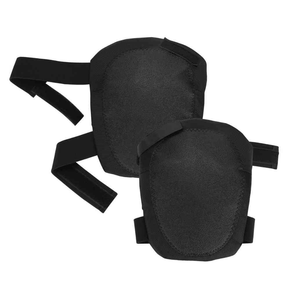 Flooring Knee Pads With Heavy Duty Foam Padding And No-slip Leather Stabilizers