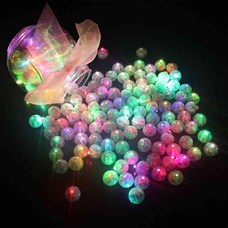 Mini Led Light Up Flashing Balls Led Outdoor Lights Flash Lamps Ball.