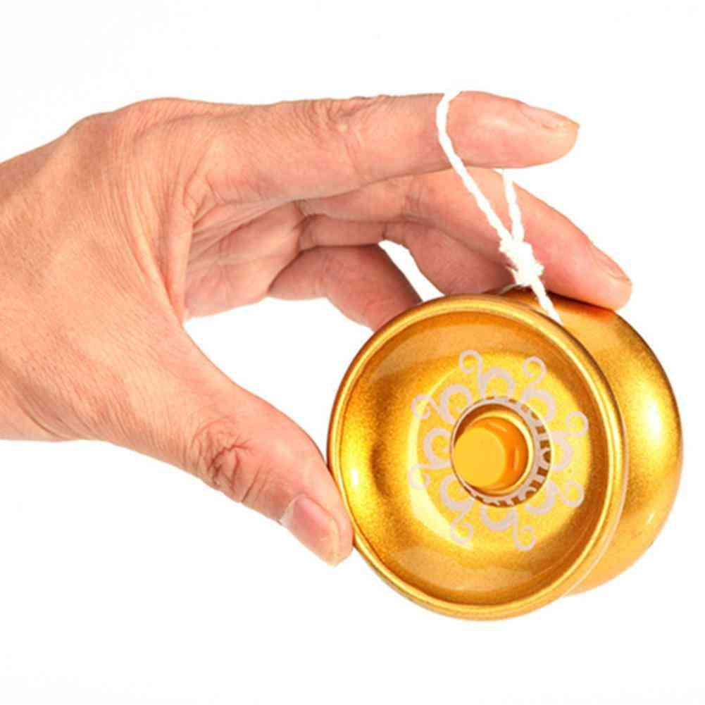 Alloy Aluminum Design Yoyo, Ball String Trick, Yo-yo Kids Magic Juggling Toy