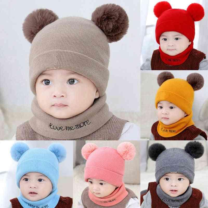 Winter Warm Hats Set