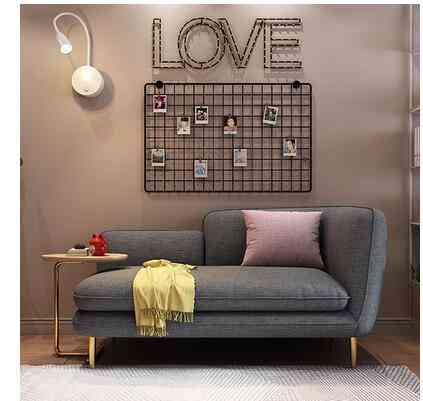 Web Celebrity Budget Nordic Cloth Art Ins Sofa For Small Apartment Rental Room