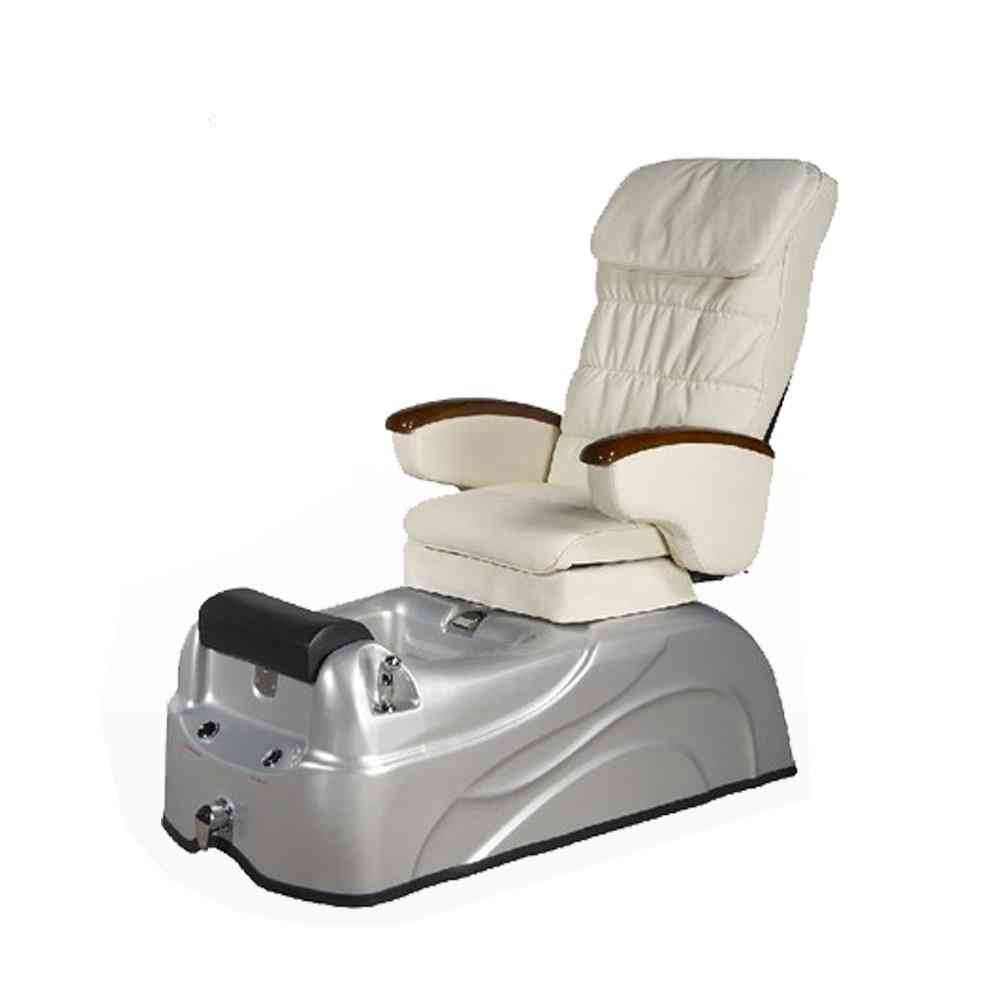 Massage Chair Of Pink Salon Equipment With Pedicure Chair