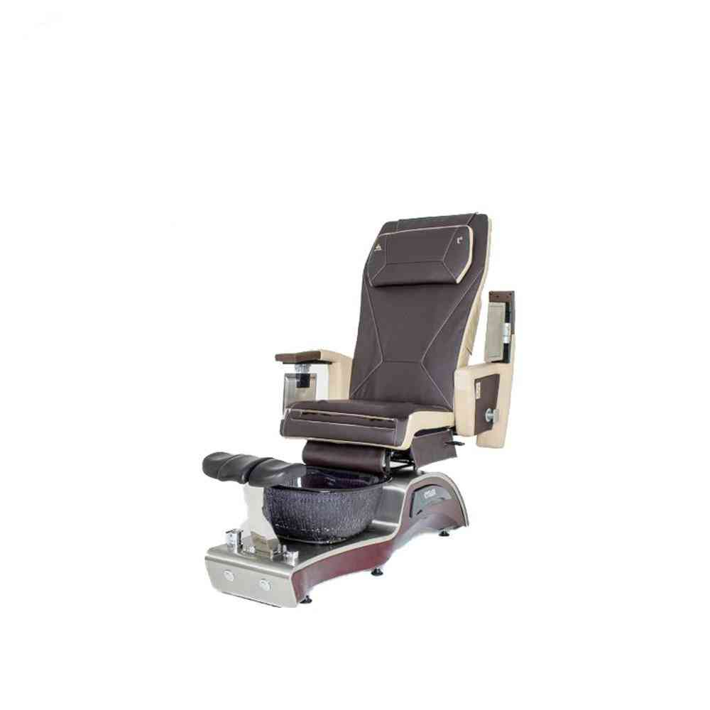 Ds-8135 Pedicure Spa Chair With Fiberglass Basin Leather Cover