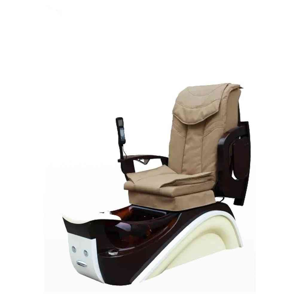 Ds Salon Furniture Luxury Spa Pedicure Chair With Glass Bowl