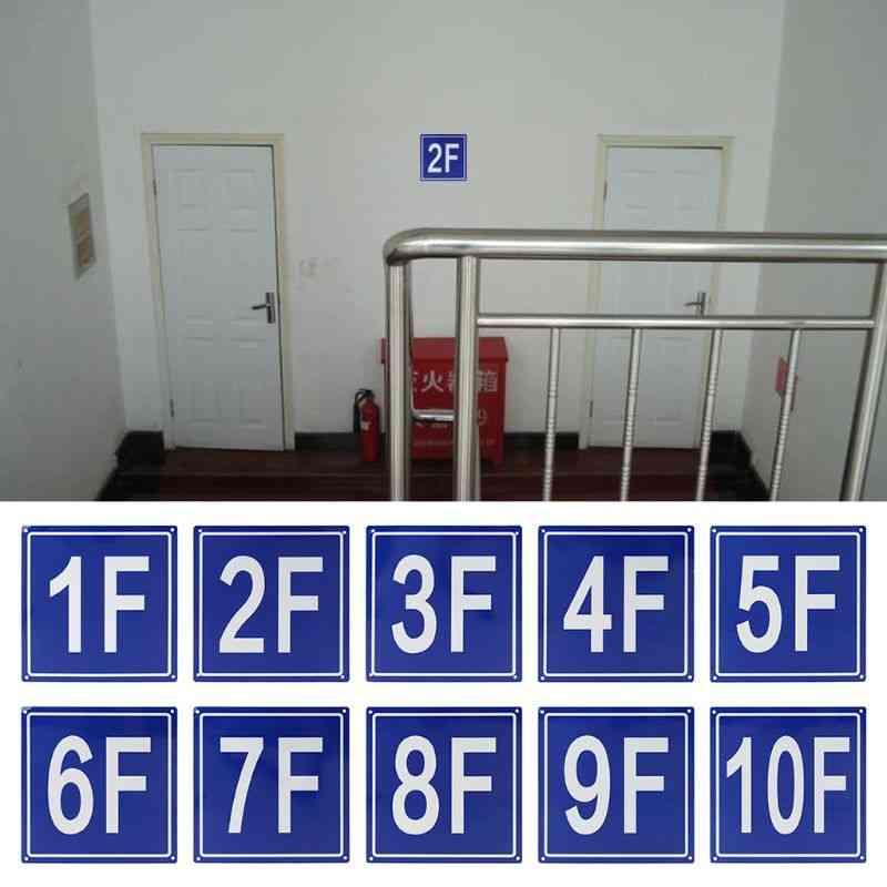 Aluminum Building Floor Signs