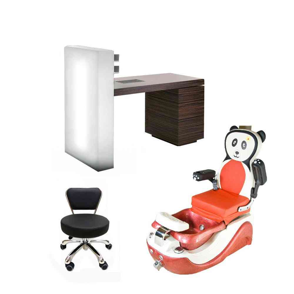 Salon Furniture Of Used Nail Salon Equipment With Whirlpool Spa Pedicure Chair