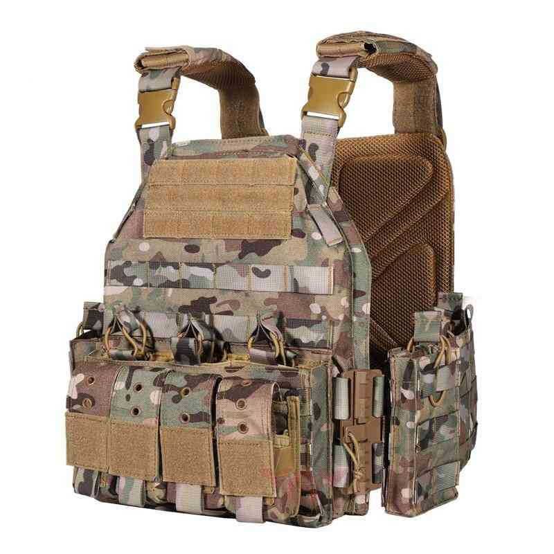 Plate Carrier Tactical Vest, Outdoor Hunting Protective Vest