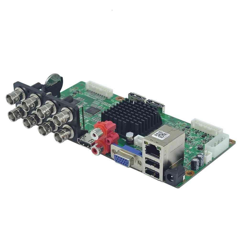 Ahd Cvi Tvi Ip Cvbs/dvr Board/ Audio In 2 Sata Hdd Port /cctv Dvr Main Board