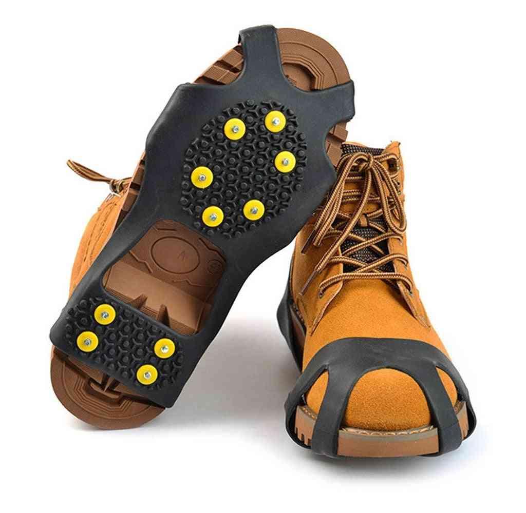 Anti-skid Shoe Spikes Crampon Anti-ice On Snow Hiking Grip Crampon