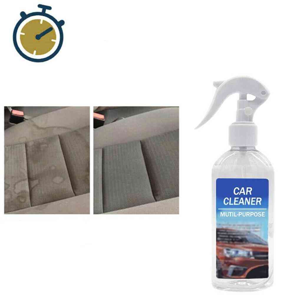 100ml Car Interior Cleaning Agent Multi - Functional Cleaner Interior Water Foam Cleaner All Purpose Cleaning - Agent Car