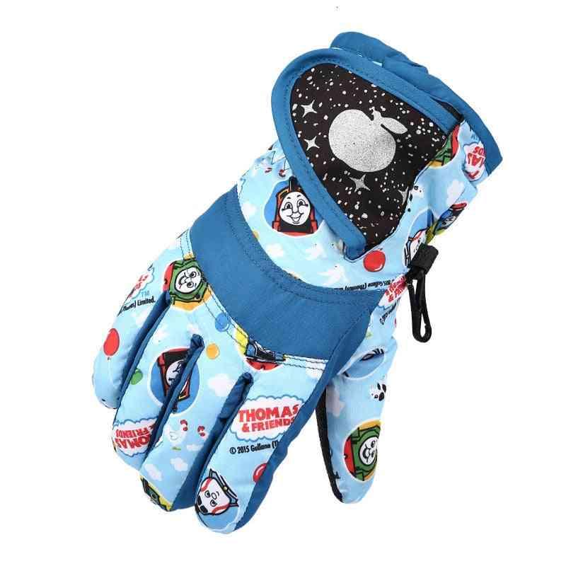 Girls Waterproof Warm Gloves