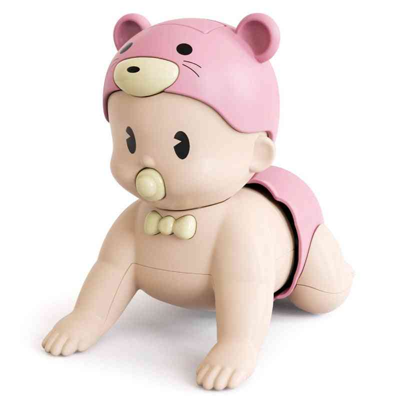 Toddler Fun Cute Climbing Early Education Electric Learning Crawling Doll.