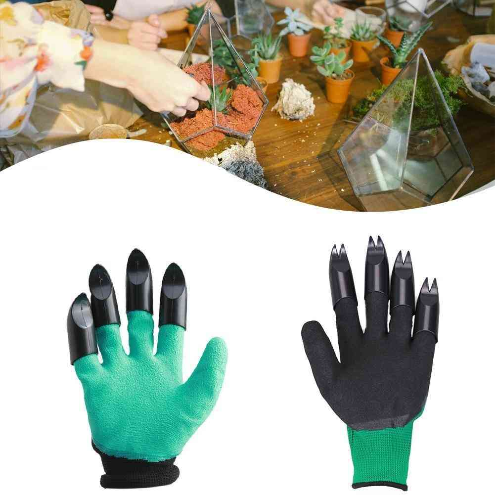 Abs Plastic Claws Gloves Supplies