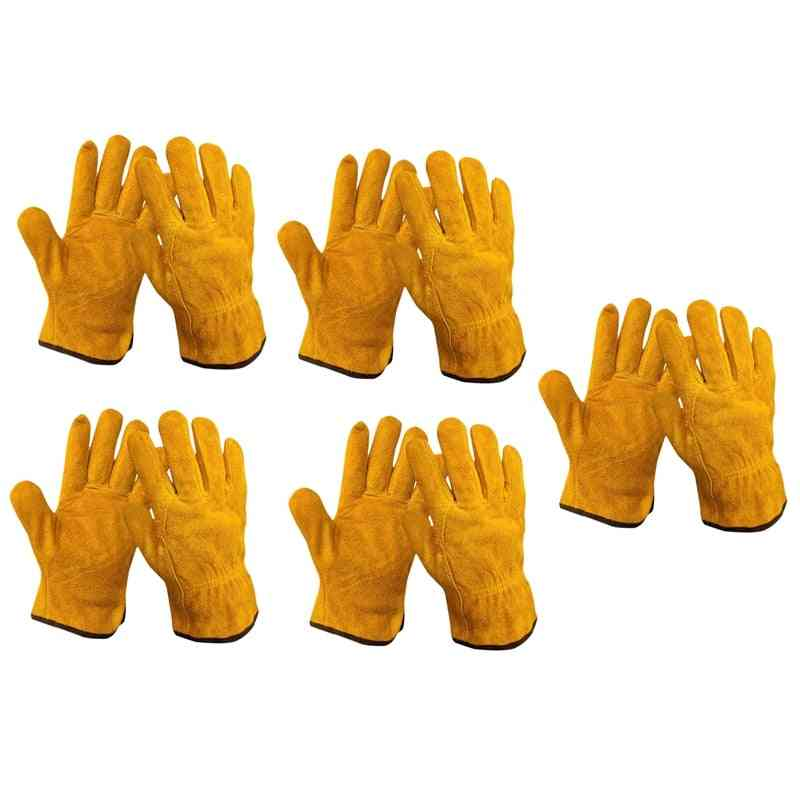 Gardening Glove For Wood Cutting/construction