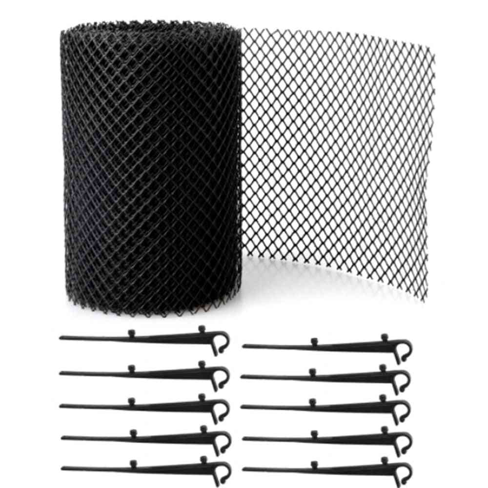 Plastic Drainage Gutter Guard, Mesh Guards, Easy Install Gutters Cover