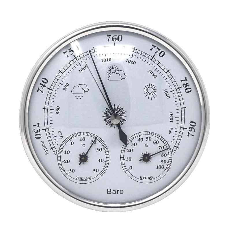 Analog Wall Barometer Thermometer Hygrometer