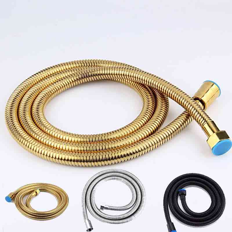 Stainless Steel Flexible Shower Hose, Explosion-proof, Flexible Plumbing Pipe, Bathroom Accessories, Fittings Pipes