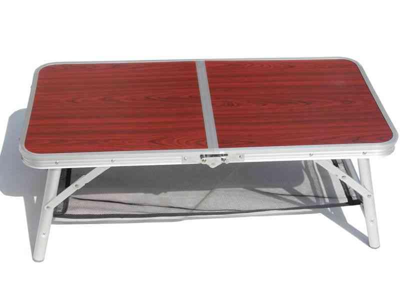 Garden Sets, Aluminium Alloy Fold Picnic Desk, Leisure Chair