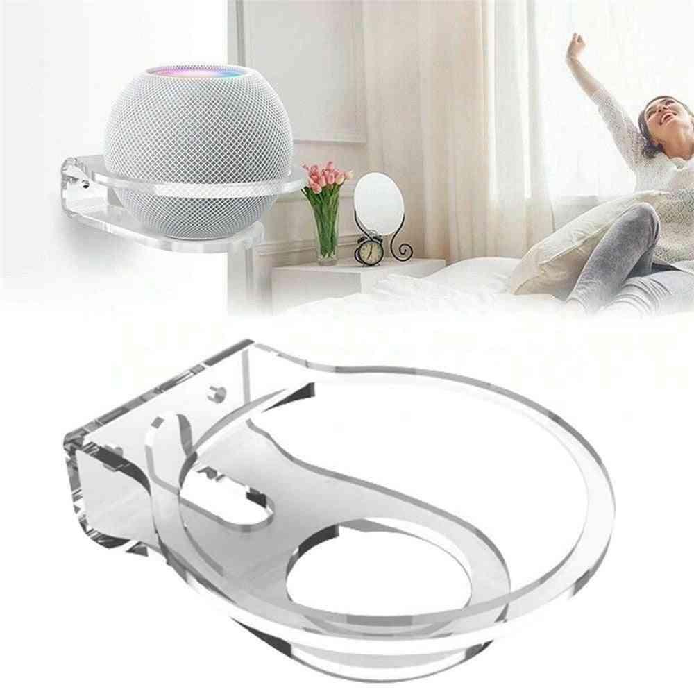 Universal Speaker Holder Wall Mount Hanger Bracket Space-saving Stand Cable Management For Apple Home Pod Mini