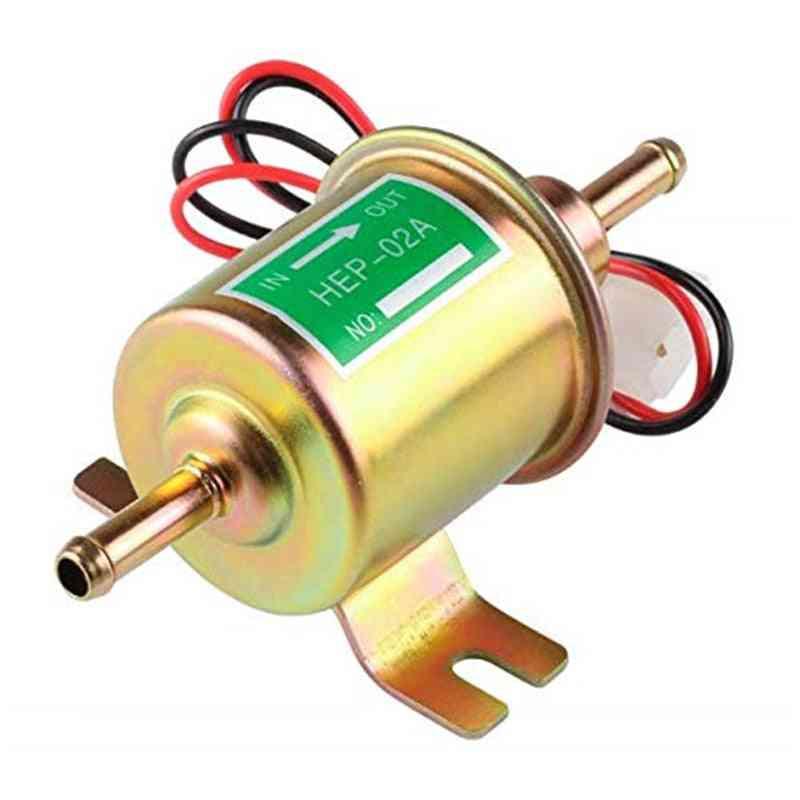 Fuel Pump Low Pressure, Diesel, Petrol, Gasoline Electric Pumps For Carburetor, Motorcycle Atv