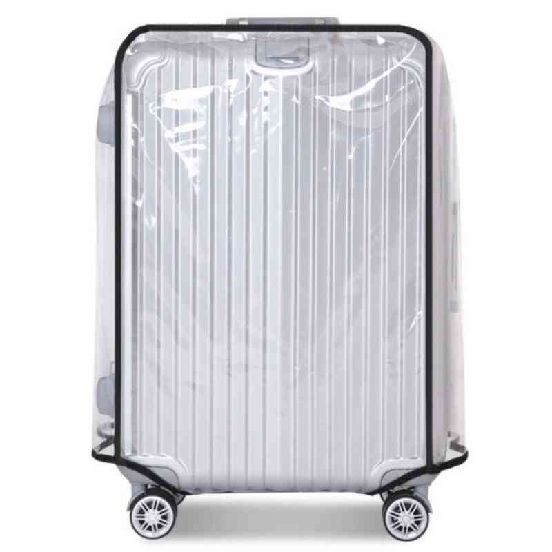 Waterproof Pvc Suitcase Cover, Dustproof Protective Cover