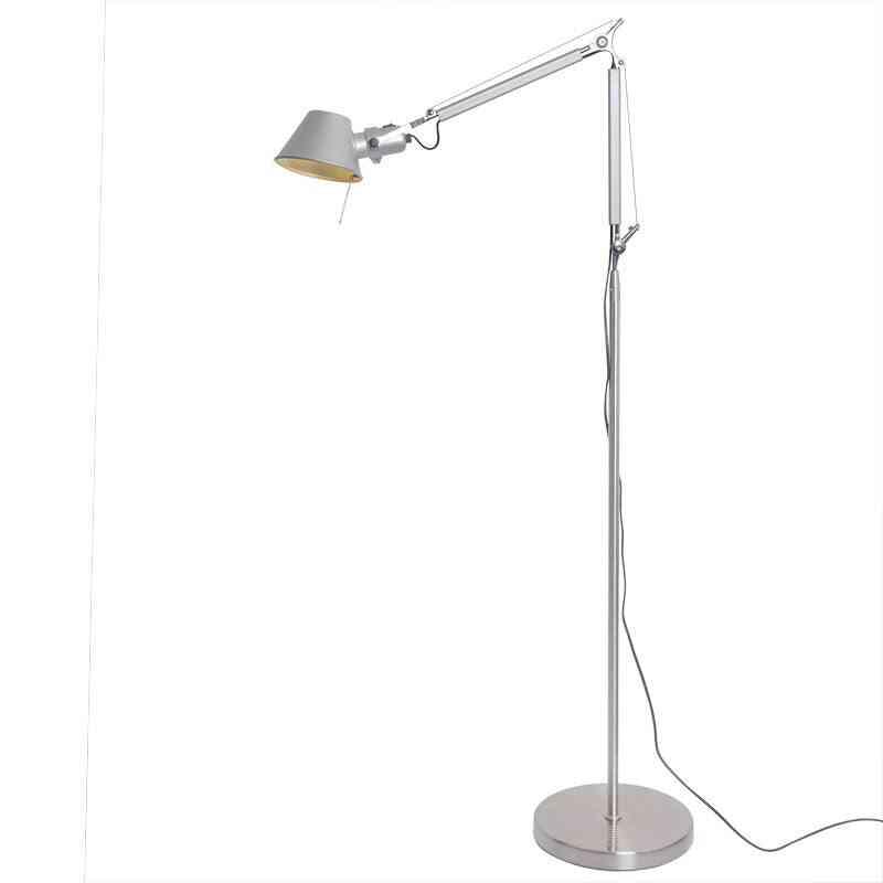 Modern Industrial Adjustable Stand Floor Lamp