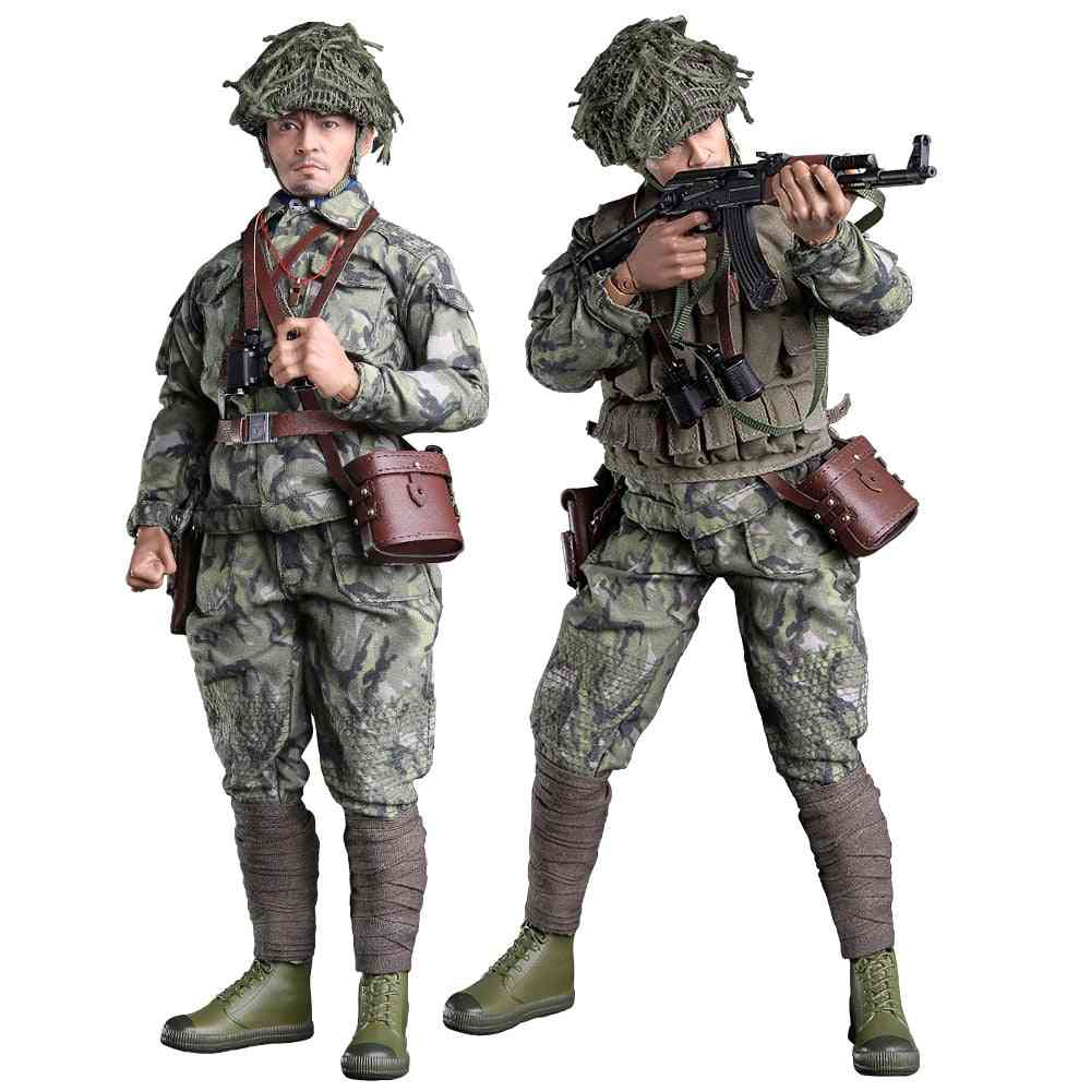 Action Figure, Guard Flexible Soldiers, Model Set With Accessories  Collection