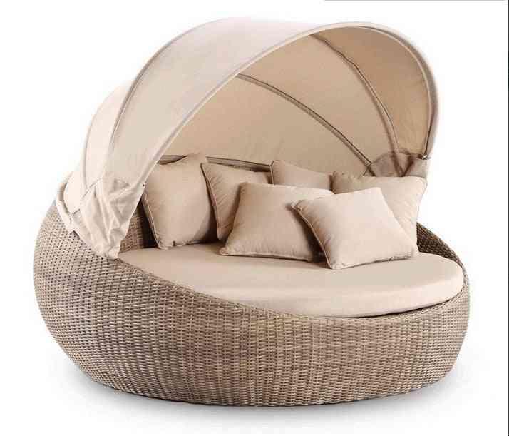 Garden Furniture & Wicker Day Royal Round Bed