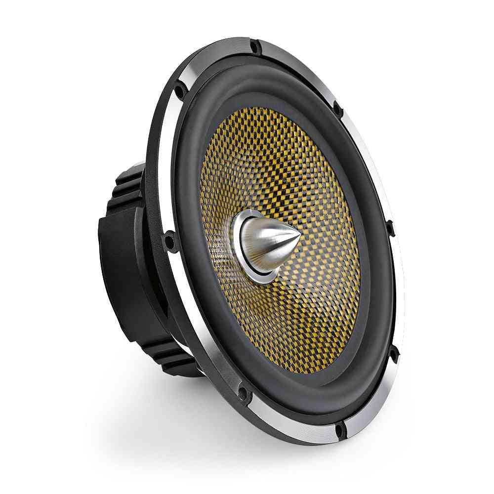 Car Audio Midrange Bass Speaker High Power 4 8 Ohm 60 W 25 Core Bullet Aluminum Basin Music Woofer Loudspeaker