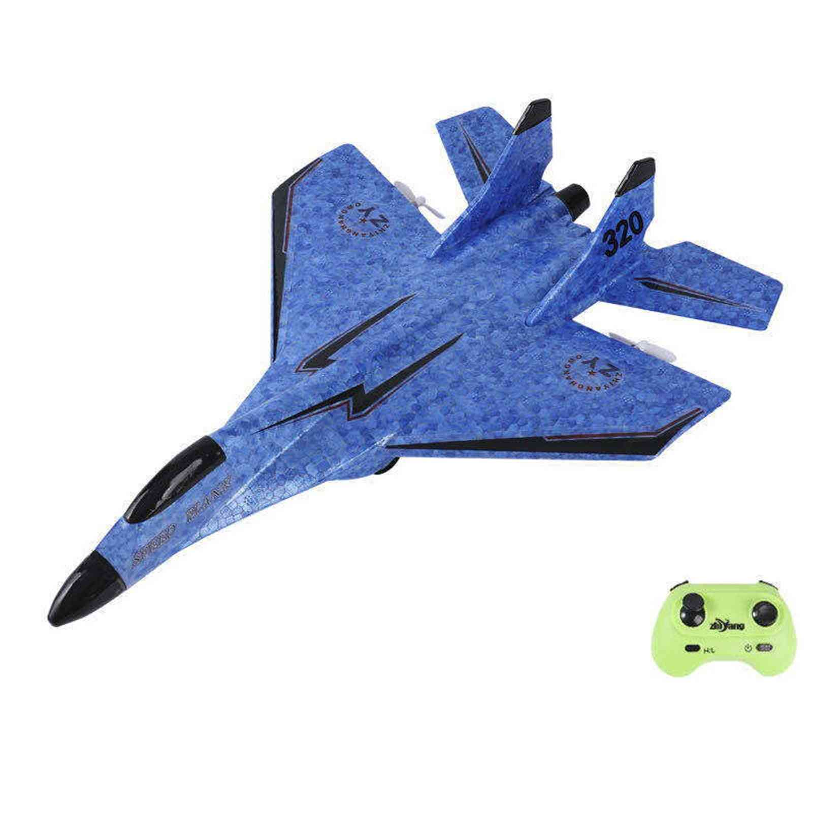 Rc Plane, Epp Foam Electric Radio Remote Control, Tail Pusher Quadcopter Glider Aircraft.