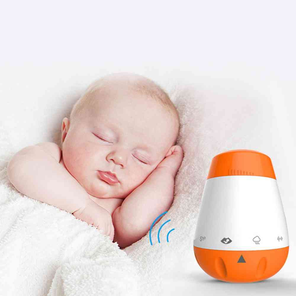 Rechargeable Baby Sleep Soother, Shusher, Noise Sound Machine For Sleeping, Relaxing & Soothing Nature Sounds