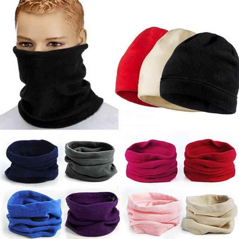 Fashion Warm Male Soft Fleece Scarves