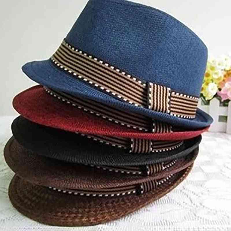 Kids Hat Gentleman Jazz Cap