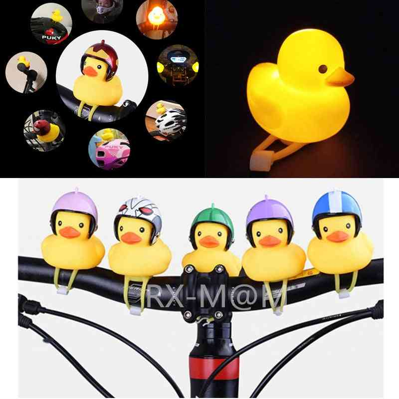 Standing Yellow Duck Bicycle Bell Ring Bell For Car Cycling Bicycle Bike Ride Horn Alarm Adult Kids Toy Accessory