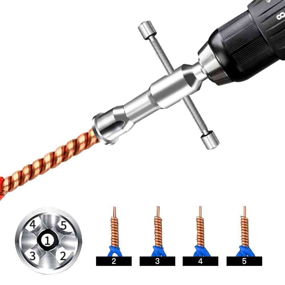 Automatic Wire Stripper Twisted Wire Tool