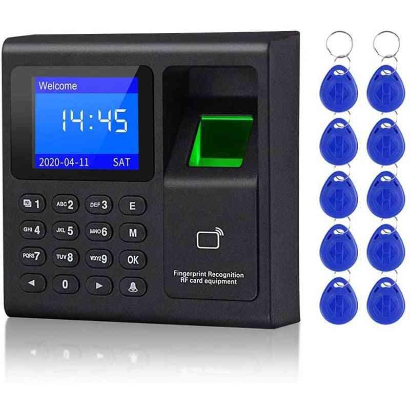 Biometric Rfid Access Control System Rfid Keypad Usb Fingerprint System Electronic Time Clock Attendance Machine