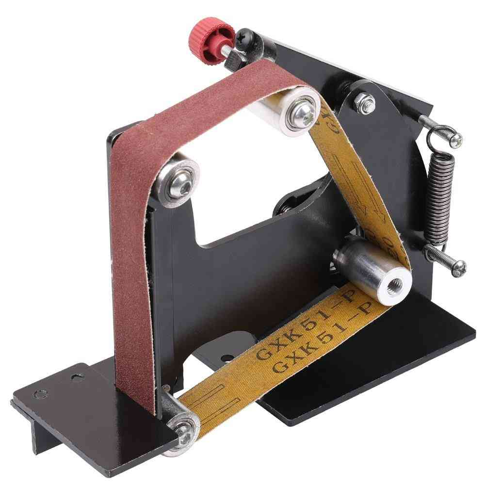 Iron Angle Grinder Sanding Belt Adapter Accessories