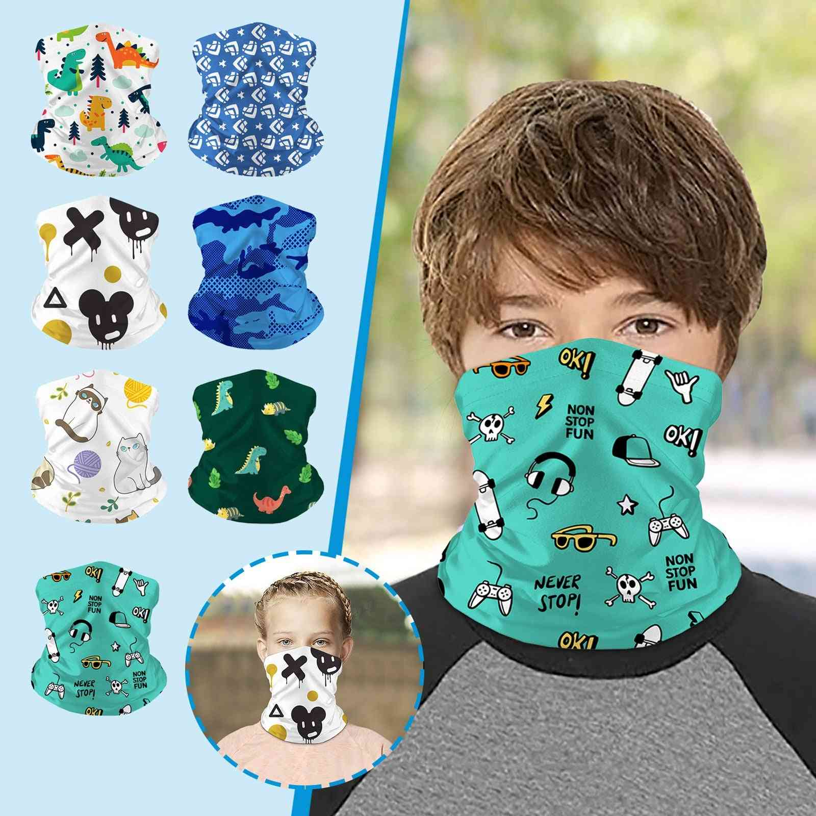 Unisex Fashion Printed Face Mask Scarf Face Mask