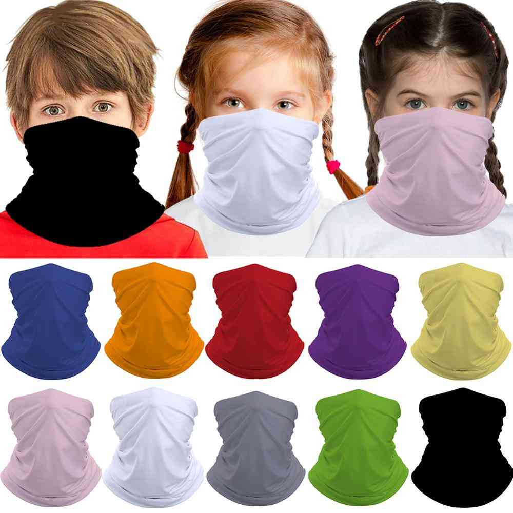 Multi-function Kids Face Scarf