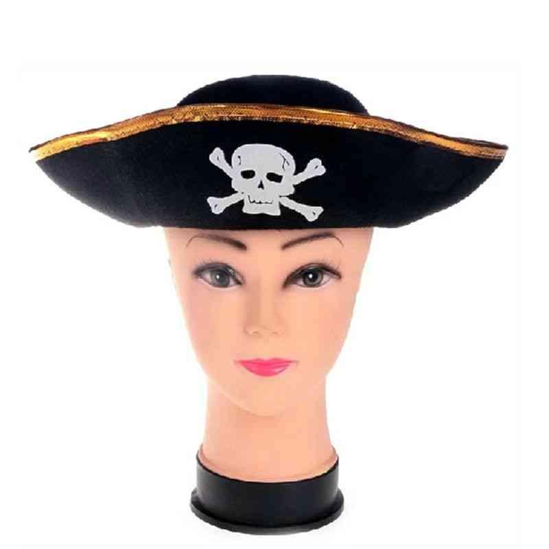 Corner Pirate Hat, Cornered Costume Accessory
