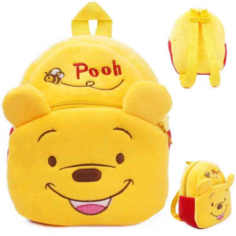 Toys Plush Backpack, Pooh Figures,'s Kindergarten School Bag