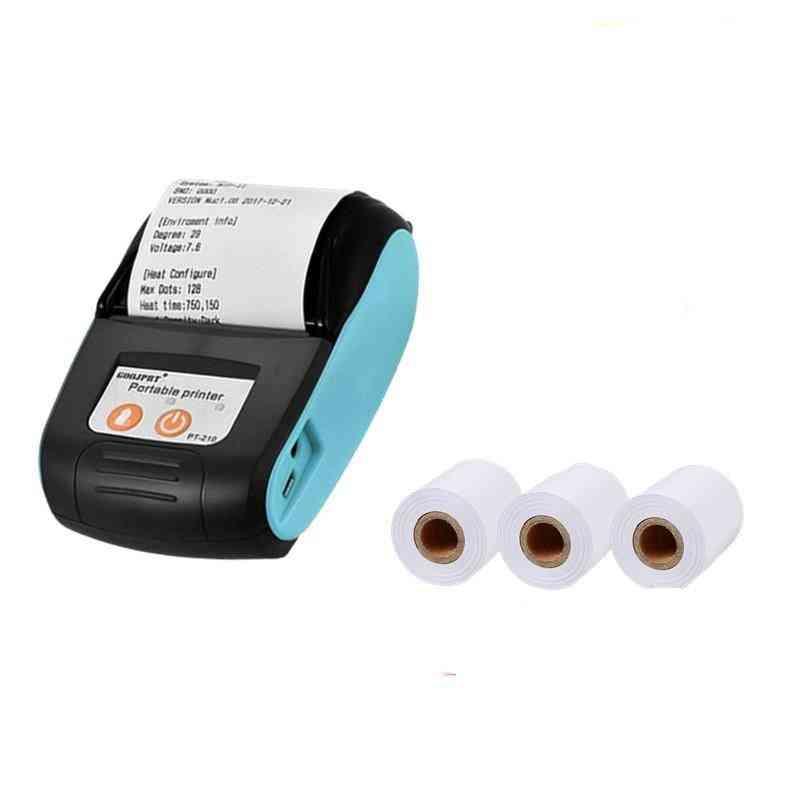 58mm Bluetooth Pocket Portable Thermal Receipt Printer