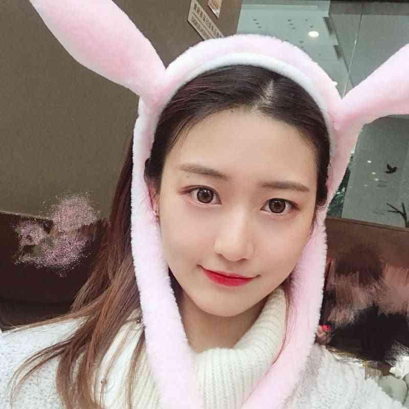 Bunny Hat Moving Ears, Headband Will Move Rabbit Ear
