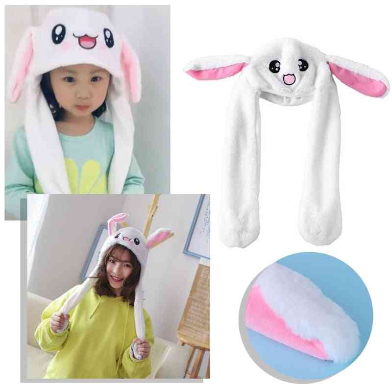 Magic Rabbit Hat With Moving Ear Plush Toy, Kids, Party Photo