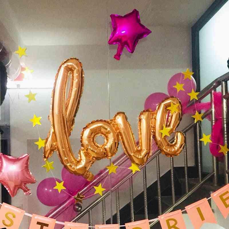 Aluminum Film Balloon, Wedding Hotel, Banquet Site Decoration