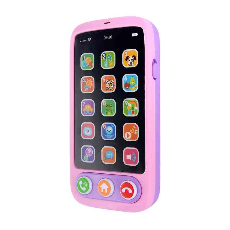 Kids Electronic Vocal, Phone Hobbies, Babies Telephone Educational, Multi-function Music, English Learning Cellphone