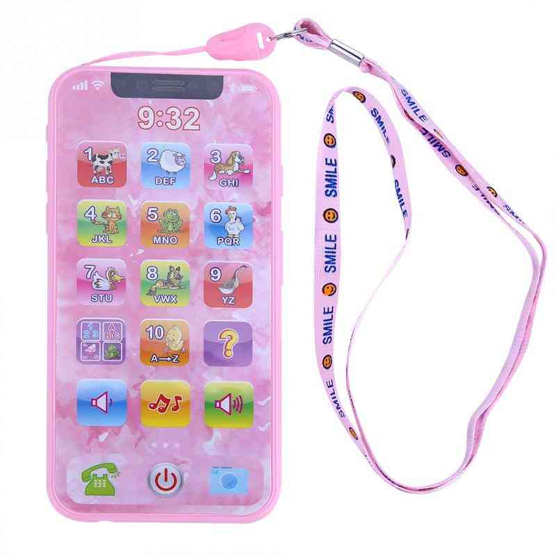 Educational Cellphone, Baby Kid Phone, Early Learning Mobile Phone Toy