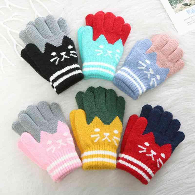 Kid Magic Cartoon Cat Splice Gloves