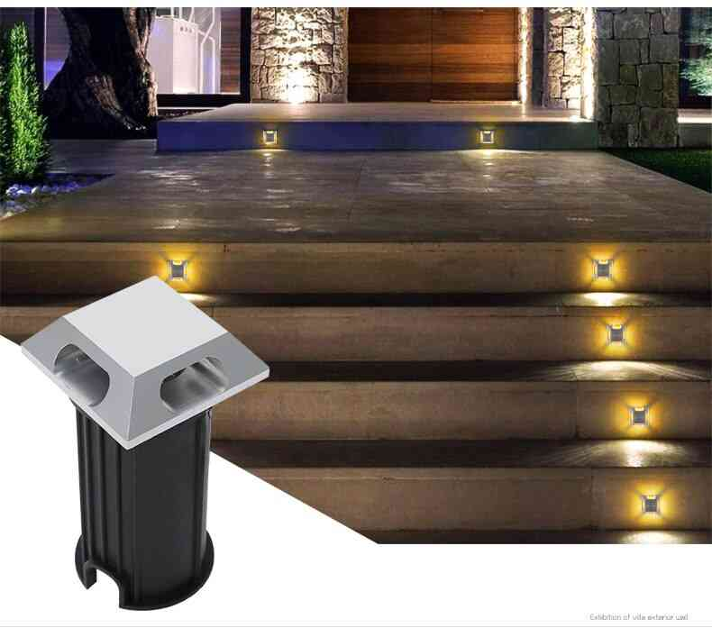 Garden Yard Step Stairs Floor Deck Recessed Inground Lamp